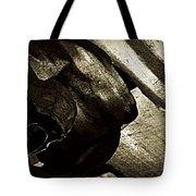 Torn  Tote Bag