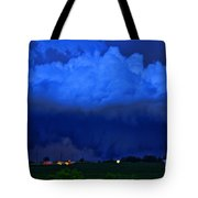Tornado Over Madison 4 Tote Bag