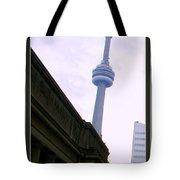 Toronto Cn Tower Canada Tote Bag