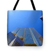 Toronto Financial Core Buildings Tote Bag