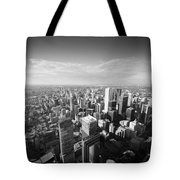 Toronto From Above Tote Bag