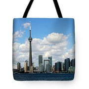 Toronto Skyline 10 Tote Bag