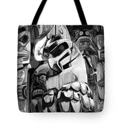 Totem Poles On Vancouver Island Tote Bag