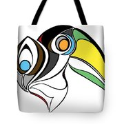 Toucan And Company On White Tote Bag
