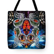 Touch Me As I Fall Into View Tote Bag by Leslie Kell