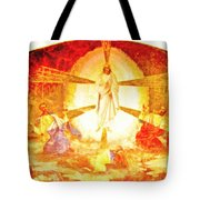Touch Me Not Tote Bag by George Rossidis