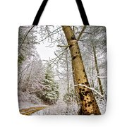 Touch Of Gold Tote Bag by Debra and Dave Vanderlaan