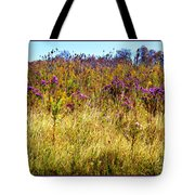 Touch Of Purple In October Tote Bag