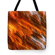 Touched By Fire Tote Bag