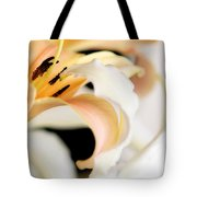 Touching Softly Tote Bag