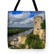 Tour Du Moulin And The Loire River Tote Bag