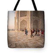 Touring Taj Tote Bag