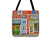 Tourist Hotel-downtown Perrysburg Tote Bag