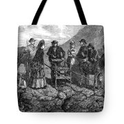 Tourists At Vesuvius, 1872 Tote Bag