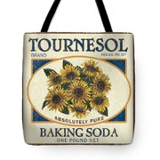 Tournesol Baking Soda Tote Bag by Debbie DeWitt