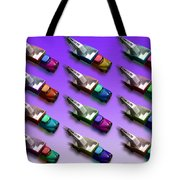 Tow The Line Dance Tote Bag