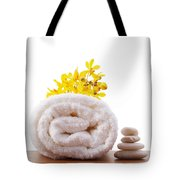 Towel Roll Tote Bag by Atiketta Sangasaeng