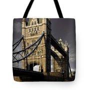 Tower Bridge Tote Bag by David Pyatt