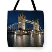 Tower Bridge Dusk Tote Bag