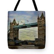 Tower Bridge London Tote Bag by Heather Applegate