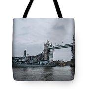 Tower Bridge Open Tote Bag