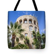 Tower In Puerto Banus Tote Bag