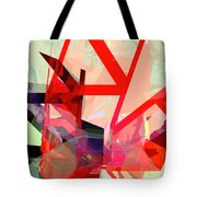 Tower Poly 13 Tote Bag
