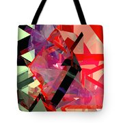 Tower Poly 14 Tote Bag