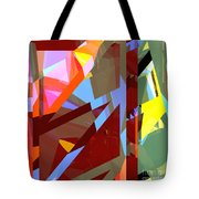 Tower Series 19 Jungle House Tote Bag