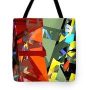 Tower Series 44 Tangerine Picnic Tote Bag