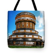 Tower That Inspired Metropolis Tote Bag