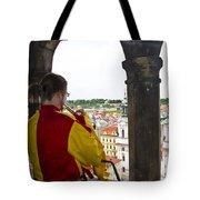 Tower Trumpeter - Prague Tote Bag
