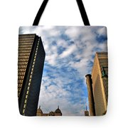Towering Towers Tote Bag