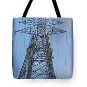 Towers And Lines Tote Bag