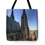 Towers Of The Cathedral Tote Bag