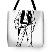 Town Marshall Tote Bag