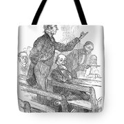 Town Meeting, 19th Century Tote Bag