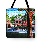 Town Wall Art Tote Bag