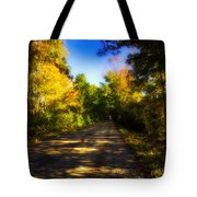 Townline Road Tote Bag