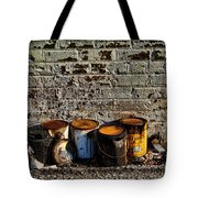 Toxic Alley Grunge Art Tote Bag