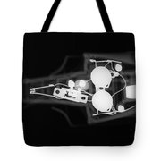 Toy Car X-ray Tote Bag