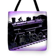 Toy Train Tote Bag