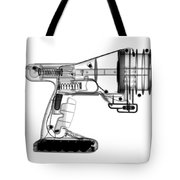 Toy Vortex Gun Tote Bag