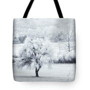 Tracks In The Frost Tote Bag