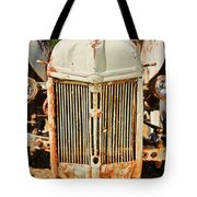 Tractor Face Tote Bag