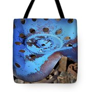 Tractor Seat Close Up Tote Bag