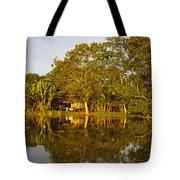 Traditional Amazon Village Tote Bag