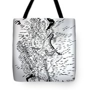 Traditional Dance - Central African Republic Tote Bag