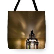 Traditional Lantern At Riad Dar Hanane Tote Bag