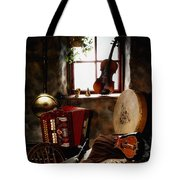 Traditional Musical Instruments, In Old Tote Bag
